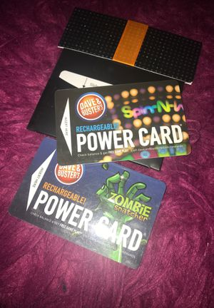 Dave and busters power cards for Sale in Groveport, OH