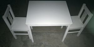 Kids Table with 2 Chairs for Sale in Phoenix, AZ