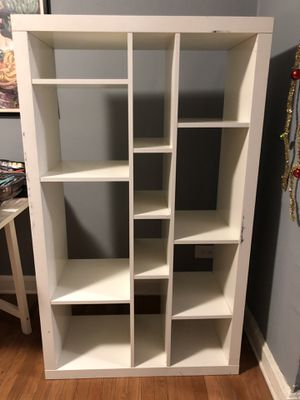 White ikea shelves for Sale in Chicago, IL