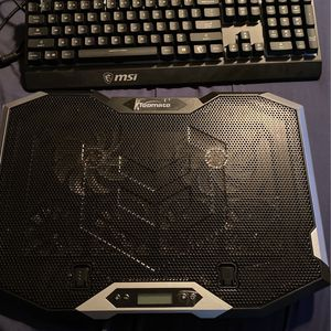 MSI keyboard & Laptop Cooler Fan for Sale in Phoenix, AZ