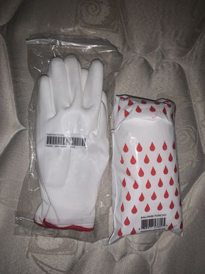 Supreme Gloves/ Poncho for Sale in Oceanside, CA