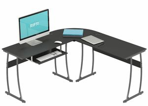 L shape desk for computer for Sale in Irving, TX