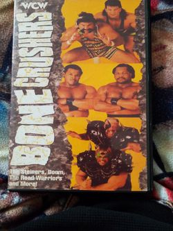 Wcw Bone Crushers Dvd for Sale in Chicago,  IL