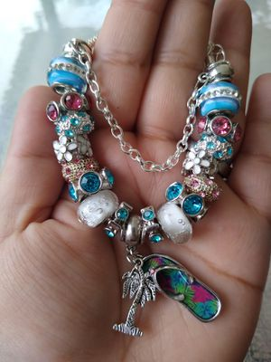 Summer fun Pandora STYLE charm bracelet for Sale in Spring, TX