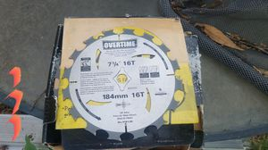 7 and a quarter skill saw blade for Sale in Tracy, CA