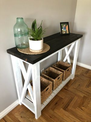 Handmade Console Entry Table for Sale in Hemet, CA