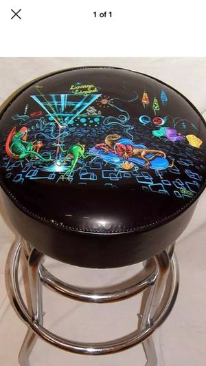 Michael Godard Lounge Lizard Hookah Martini Bar Stool - NEW! for Sale in Orland Park, IL
