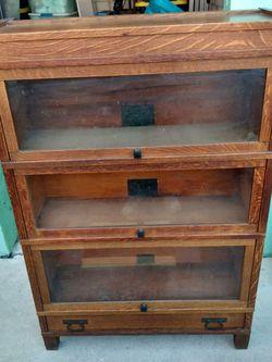 Antique Art Mission Book Case for Sale in Fort Lauderdale,  FL