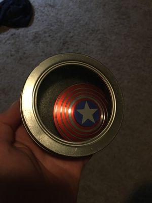 Captain America Figit Spinner for Sale in Las Vegas, NV