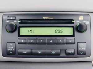 Toyota Corolla radio Interior stereo system CD player for Sale in San Diego, CA