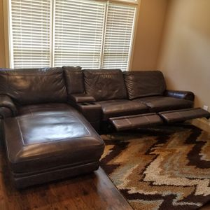 Lazy boy recliner couches with chaise for Sale in Johns Creek, GA