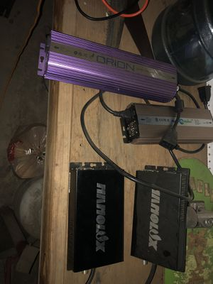 Nanolux,Orion and hydro planet ballasts for Sale in Los Angeles, CA