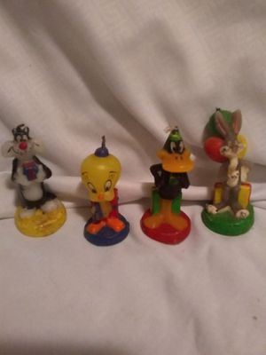 1993 Warner Brothers cartoon candles for Sale in Wentzville, MO