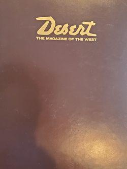 Desert Magazines in Binders for Sale in Maple Valley,  WA