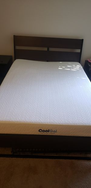 IKEA Bedframe and Mattress - Size Full for Sale in Cupertino, CA