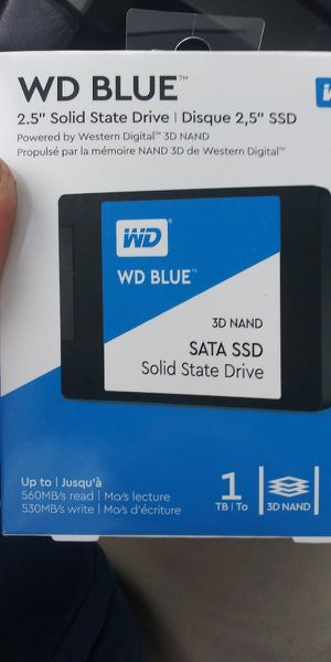 1 tb wd ssd for Sale in South Bend, IN