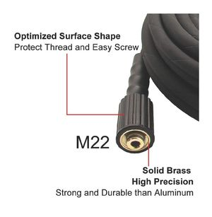226 50 FT High Tensile Wire Braided Pressure Washer Hose for Sun Joe SPX Series, Karcher, B&S, Craftsman, Generac, Champion&Simpson and Others for Sale in San Diego, CA