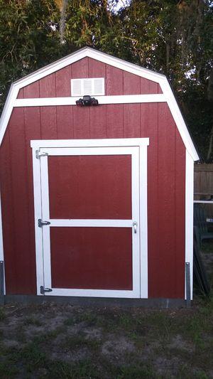 It's a brand new shed it's a 10 x 12 it came from Home Depot it retails for 3200 I'm selling it for 1500 it's also hurricane for Sale in Riverview, FL