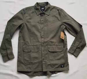 Vans Winchester Shirt Jacket Army Size Medium Men's New With Tags for Sale in Chula Vista, CA