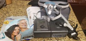 Respironic resmstar pro cflex + plus. Cpap oxygen humidifier machine for Sale in Brandon, FL