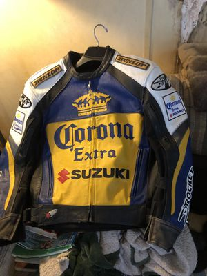 Vintage Joe Rocket Corona Suzuki leather motorcycle jacket for Sale in Whiteriver, AZ