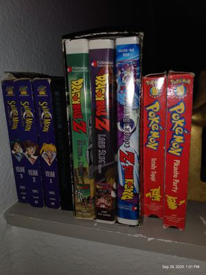 90s Anime vhs tapes for Sale in Seattle, WA