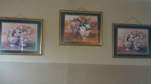 3 PIECE FRAMED PRINTS for Sale in Waynesville, MO
