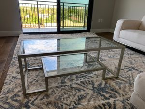 Glass Coffee Table for Sale in Boca Raton, FL