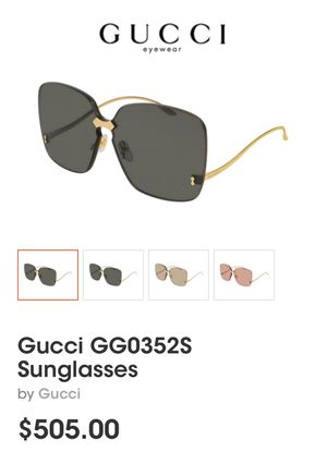 100%Authentic🔥GUCCI GG0352s🔥SUNGLASSES for Sale in Huntington Park, CA