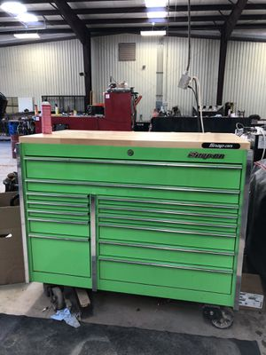 Snap on tool box for Sale in Oklahoma City, OK
