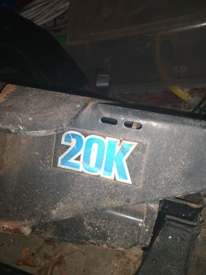 Fifth wheel hitch 20k for Sale in Hicksville, OH