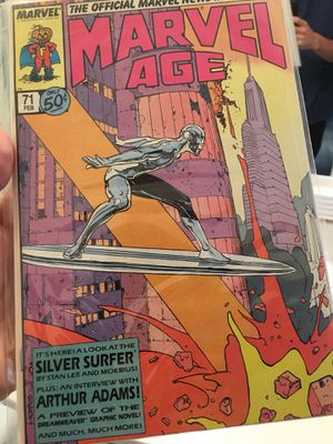 Marvel Age-Silver Surfer Comic - Feb 71 -rare! Awesome collectors comic!! for Sale in Atlanta, GA