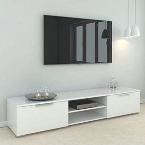 White Gloss Tv Stand New in Box for Sale in Hialeah, FL