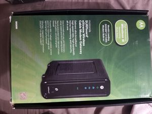 Motorola Modem/Router for Sale in Matteson, IL