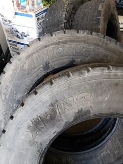 Truck drive tires Michelin XDN R22.5 for Sale in Hanover Park,  IL