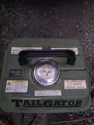 2 cycle generator (tailgator) for Sale in Hillsboro, OR