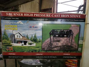 Outdoor propane cookers single double and triple burner for Sale in Greenville, WI