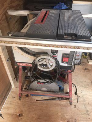 CraftsmanTable saw for Sale in Deltona, FL