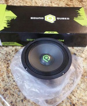 "Soundqubed 8"" mid range speakers for Sale in SeaTac, WA"