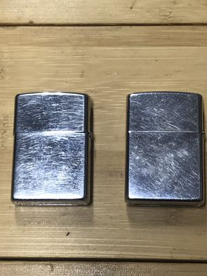 2 Zippo lighters, will ship without fluid/flint for Sale in Bradenton, FL