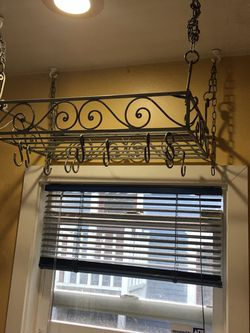 Super Awesome Pot Rack Kitchen Decor And Storage for Sale in Seattle,  WA