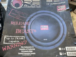 "RE Audio SE Pro 15"" Sub Woofer Speaker for Sale in San Jose, CA"
