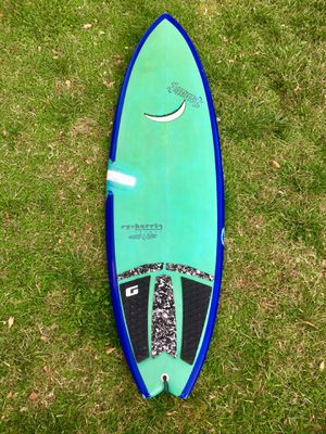 "Ry-Harris 6'0"" shorboard fish surf board surfboard for Sale in San Diego, CA"