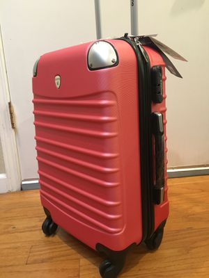 Beautiful 4 wheels spinner carry on luggage small suitcase for Sale in San Jose, CA