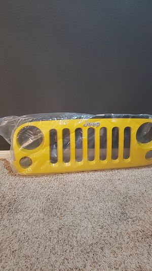 Jeep Wrangler Grille (NEW) 2015 for Sale in Lake Elsinore, CA