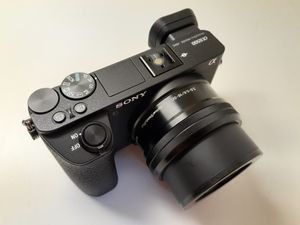 Sony a6500 Camera,16-50mm lens, mirrorless 24mp, 4k for Sale in Miami, FL