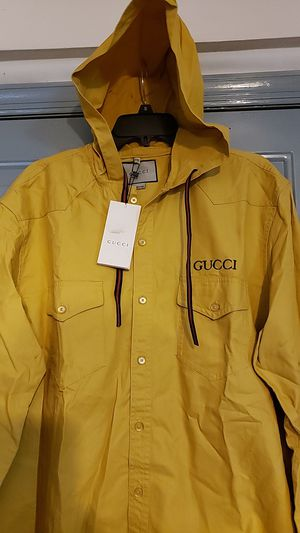 G Fashion button down hoodie jacket 2X or 4 X for Sale in Jersey City, NJ