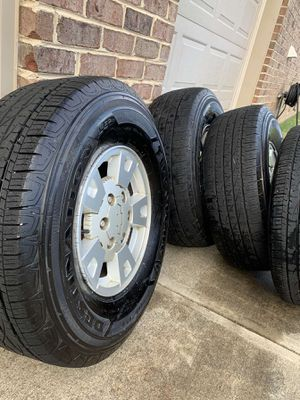 Wheel and Tire Set (P265/75R15) for Sale in Waxhaw, NC
