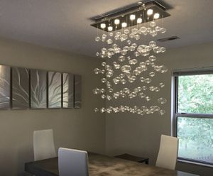 Glass bubble chandelier for Sale in Wood River, IL