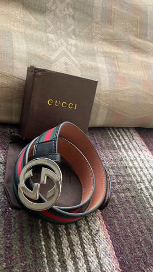 gucci belt red and green for Sale in Aurora, CO